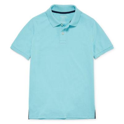 Arizona Short Sleeve Flex Polo Shirt -Boys 4-20