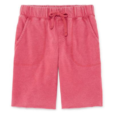 Arizona Pull-On Knit Shorts Boys 4-20