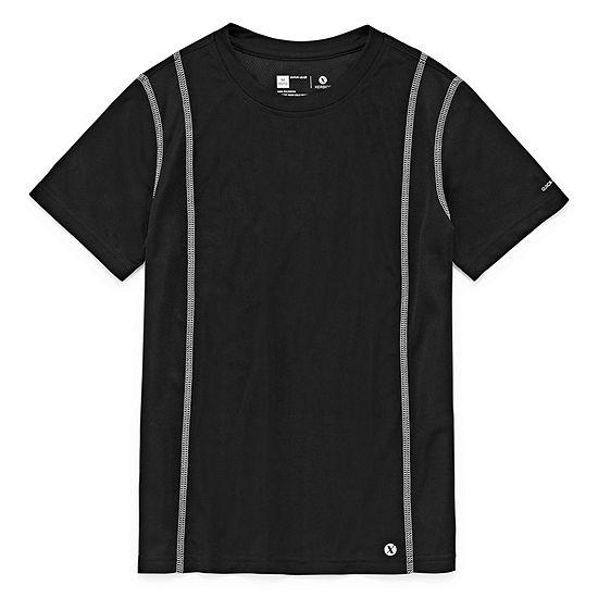 Xersion Short Sleeve Trainer Tee Boys 4-20