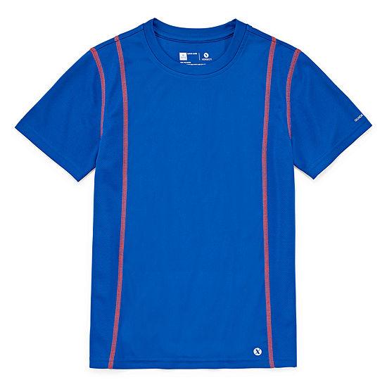 Xersion Short Sleeve Trainer Top Little & Big Boys Crew Neck Short Sleeve T-Shirt