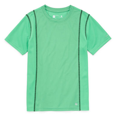 Xersion Trainer Top Short Sleeve Crew Neck T-Shirt Boys