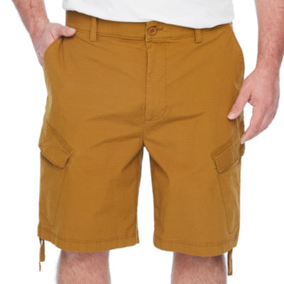 The Foundry Big & Tall Supply Co. Mens Stretch Elastic Waist Cargo Short Big and Tall