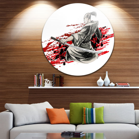 Design Art Japan Warrior Japanese Metal Artwork