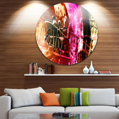 Design Art Structure Abstract Art Abstract Metal Circle Wall Art
