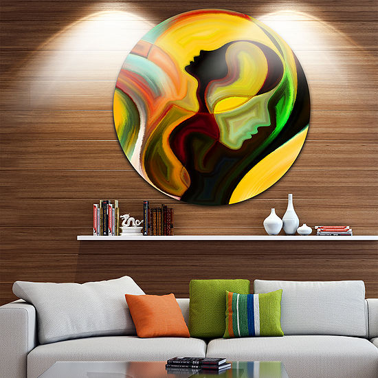 Design Art Way of Parenting Abstract Metal Artwork
