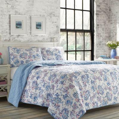 Poppy & Fritz Paige Blue Quilt Set