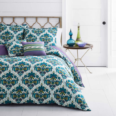 Azalea Skye Luna Blue Quilt Set