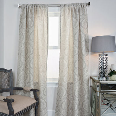 Rizzy Home Armani Stripe Linen Window Panel