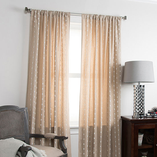 Rizzy Home Azariah Solid Cotton Window Panel