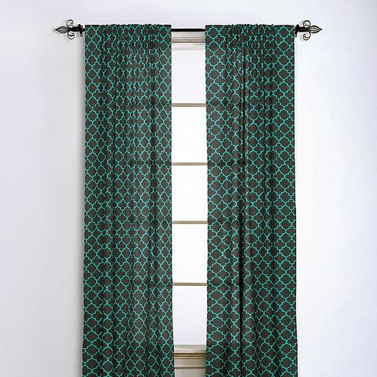 Rizzy Home Amari Geometric Cotton Window Panel