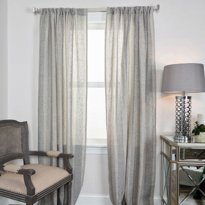 Rizzy Home Ali Stripe Linen Window Panel
