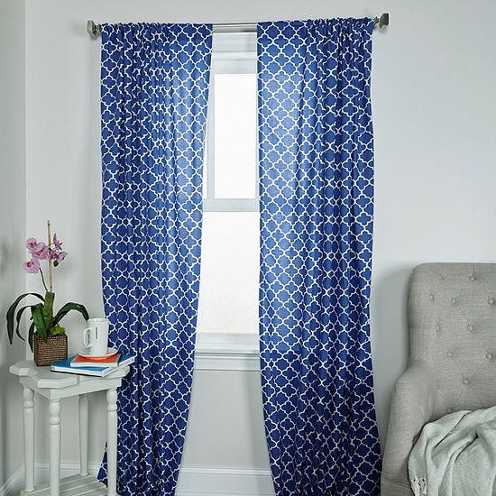 Rizzy Home Amari Single Curtain Panel