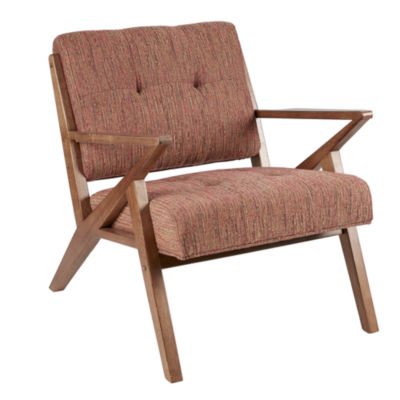 INK+IVY Rocket Tufted Fabric Club Chair