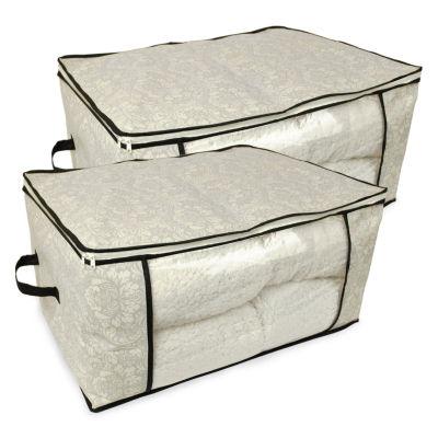 Design Imports Zippered Storage Bag 2-Pack
