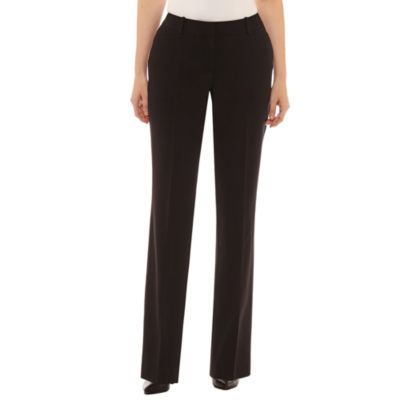 Worthington Womens Curvy Fit Bootcut Trouser