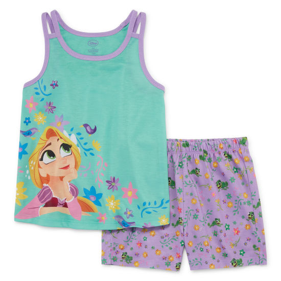 Disney 2-pack Rapunzel Pajama Set Girls