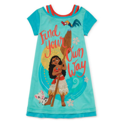Disney Girls Knit Nightshirt Moana