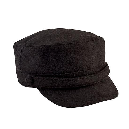 San Diego Hat Company Women's Cadet Cap W/ Self Buttons