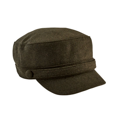 San Diego Hat Company Women's Cadet Cap W/ Self Buttons
