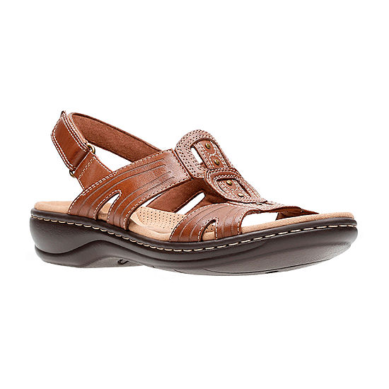 7a007f5e002d Clarks Leisa Vine Womens Strap Sandals JCPenney