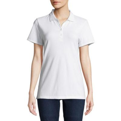 St. John's Bay® Short Sleeve Polo - Tall