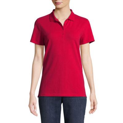 St. John's Bay® Short Sleeve Polo - Talls