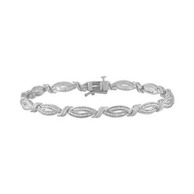 Sterling Silver 8 Inch Link Bracelet