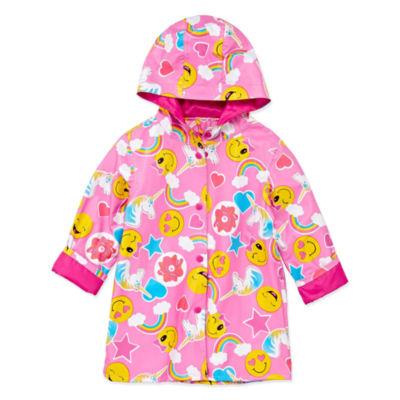 Wippete Girls Raincoat-Preschool