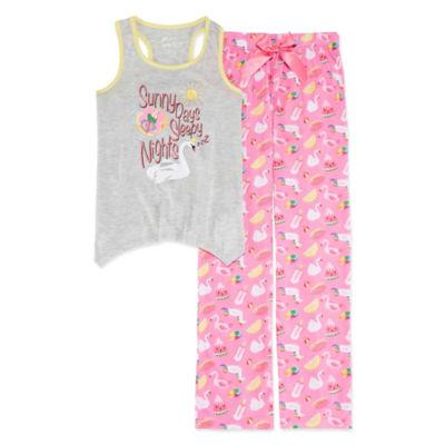 Sleep On It 2pc Pant Pajama Set Girls