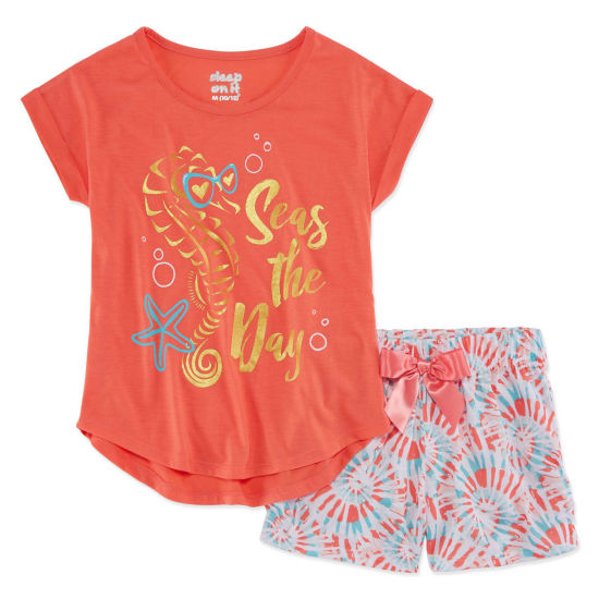 Sleep On It 2-pc. Shorts Pajama Set Girls