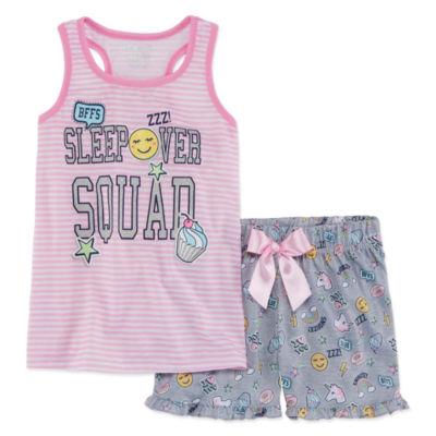 Sleep On It 2-pc. Shorts Pajama Set Girls