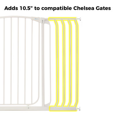 "Dreambaby® 10.5"" Chelsea Tall Gate Extension"
