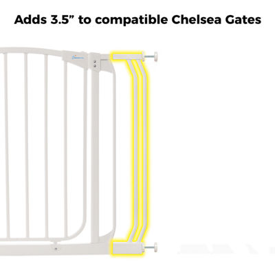 "Dreambaby® 3.5"" Chelsea Gate Extension"