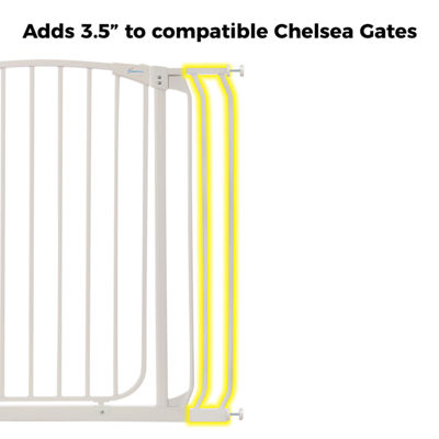 "Dreambaby® 3.5"" Chelsea Tall Gate Extension"