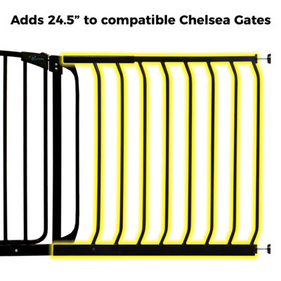 "Dreambaby® 24.5"" Chelsea Gate Extension"