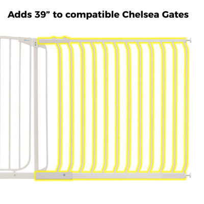 "Dreambaby® 39"" Chelsea Tall Gate Extension"