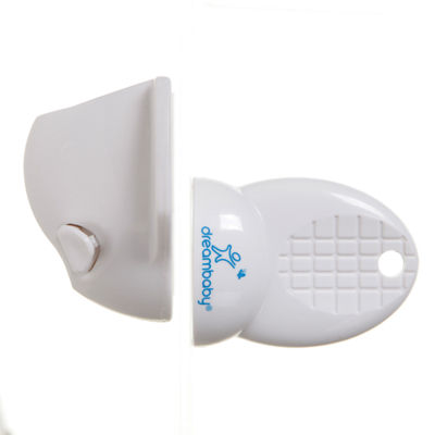 Dreambaby® Adhesive Mag Lock 4 Locks, 1 Key