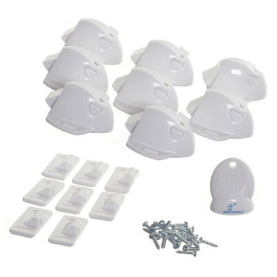 Dreambaby® Adhesive Mag Lock 8 Locks, 1 Key