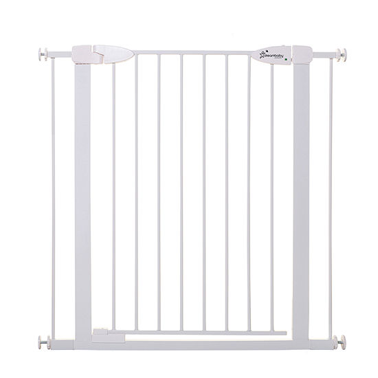 """Dreambaby® Boston Tall Magnetic Auto-Close Security Gate (29.5-38"""", includes 2x2.75"""" gate extensions)"""
