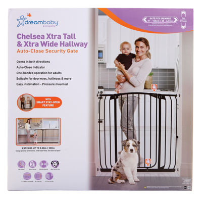 Dreambaby® Chelsea Tall Hallway Auto Close Gate