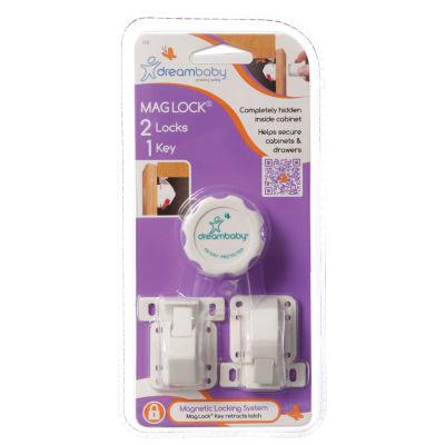 Dreambaby® Mag Lock 2 Locks, 1 Key