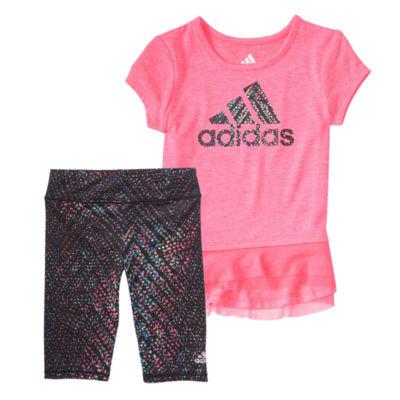 adidas 2-pc. Legging Set-Toddler Girls