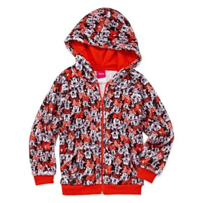 Disney Long Sleeve Minnie Mouse Sweatshirt - Preschool Girls