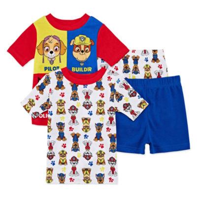 4-pc. Paw Patrol Pajama Set Boys