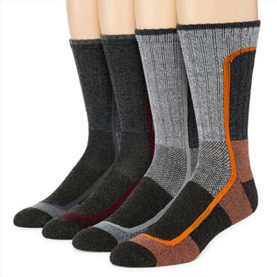 Columbia® 4-pk. Cotton Blend Color Block Crew Socks