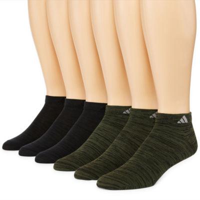 adidas 6pk Superlite 6 Pair Low Cut Socks-Mens