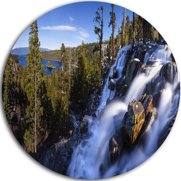 Designart eagle falls emerald bay lake tahoe landscape for Lake tahoe jewelry stores