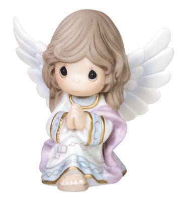 "Precious Moments  ""Praise To The New Born KingBisque Porcelain Figurine  #151031"