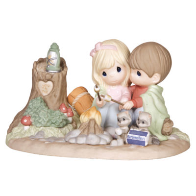 "Precious Moments  ""You Warm My Heart""  BisquePorcelain Sculpture  Limited Edition  #141047"