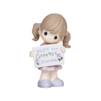 "Precious Moments  ""You're The Greatest GrandmaBisque Porcelain Figurine  Girl  #133033"